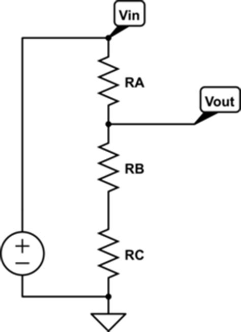 resistor in voltage divider voltage divider gas station without pumps