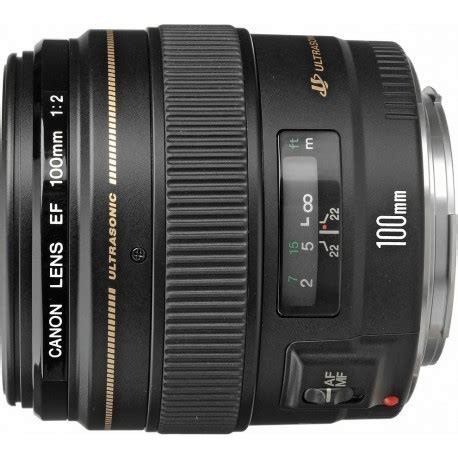 canon ef 100mm f/2.0 usm lenses photopoint