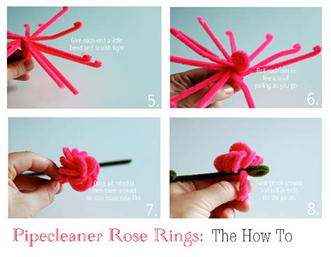 How To Make A Pipe Out Of Paper - how to make a pipe cleaner ring