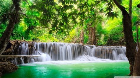 waterfall wallpaper hd 1920x1080 green tropical waterfall 4k hd desktop wallpaper for 4k