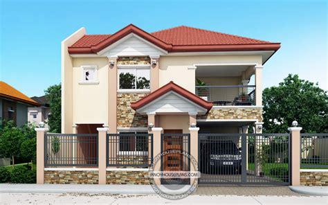 modern house design in pinoy with attic contemporary house plans featuring florante house plans