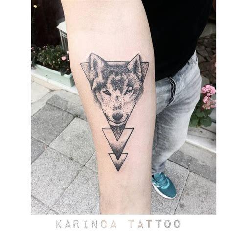 tattoo geometric instagram geometric tattoo geometric wolf tattoo on the arm www
