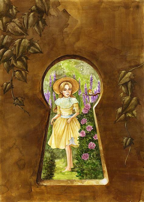 secret garden colouring book chapters the secret garden book illustrations on risd portfolios
