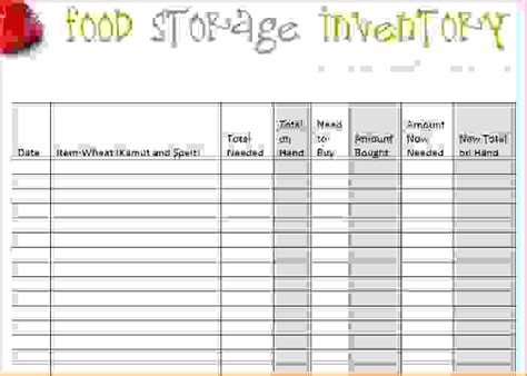 Restaurant Inventory Spreadsheet Template by 7 Restaurant Inventory Spreadsheet Procedure Template