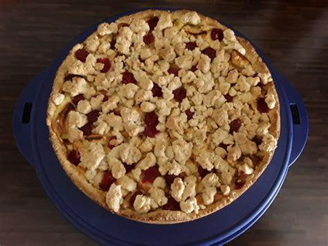 Streusel Pudding Kuchen