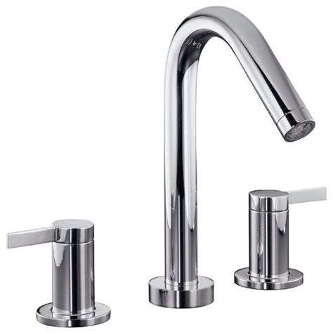 Where To Buy Bathroom Fixtures Kohler Stillness 174 Widespread Bathroom Faucet Modern Bathroom Faucets And Showerheads Other