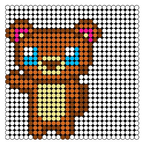 animal perler bead patterns waving perler bead pattern bead sprites animals