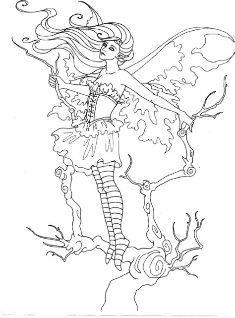 elf fairy coloring pages amy brown coloring page fairy myth mythical mystical