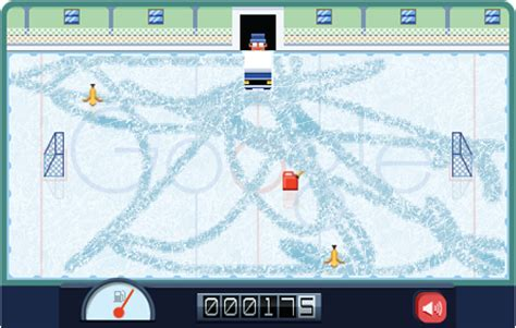 today s doodle how to play in today s doodle drive an adorably zamboni