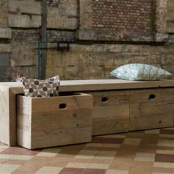 Wooden Storage Bench 15 Creative Diy Storage Benches Hative