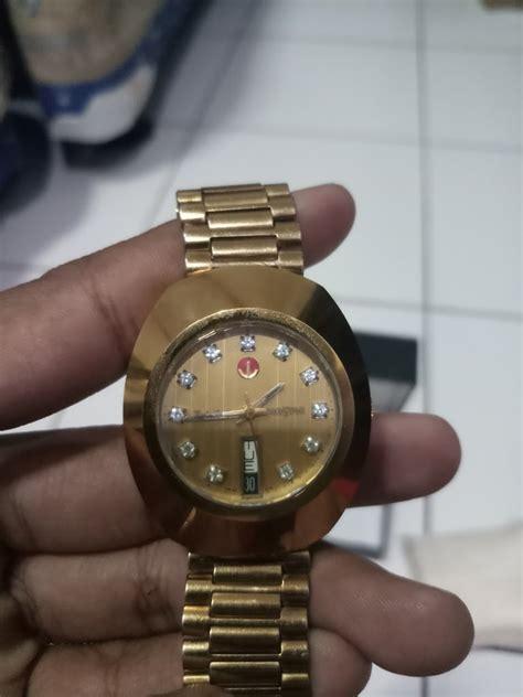Jam Tangan Rado Gold jam tangan rado diastar gold