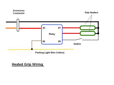 harley davidson heated grip wiring diagram simple harley