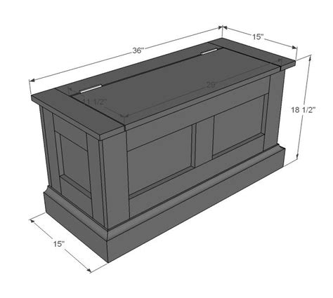 How To Build A Bench With Storage Seat Pdf Woodwork Storage Bench Plans Download Diy Plans The