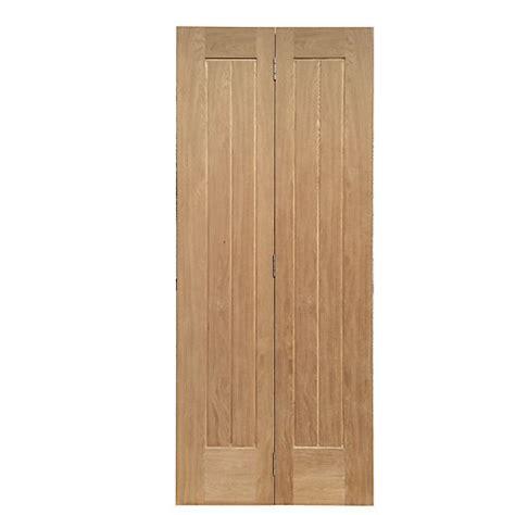 Wickes Bi Fold Doors Exterior Wickes Geneva Cottage Bi Fold Door Oak Veneer 5 Panel 1981 X 686mm Wickes Co Uk