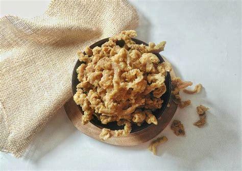 resep usus ayam crispy keripik usus kriuk awet tips