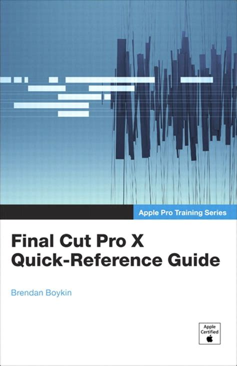 final cut pro price student apple pro training series final cut pro x quick reference