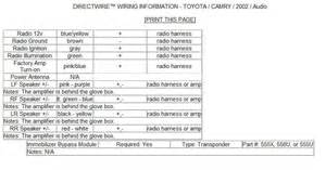 1998 toyota camry radio wiring diagram 1998 wiring diagram