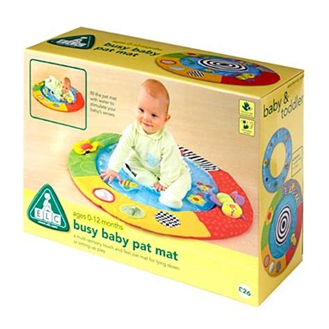 Water Pat Mat For Babies by Elc Busy Baby Pat Mat Play Mat Fill With Water Multi Ebay