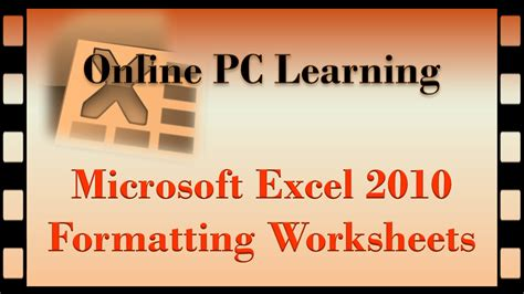 Excel 2010 Styles And Themes Online Pc Learning   excel 2010 styles and themes online pc learning