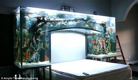 fish tank bedroom if it s hip it s here archives no room for an aquarium think again 20 unusual places in