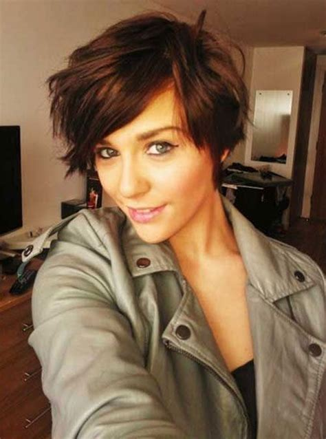 hairstyle bangs cut too short for women longer pixie and short hairstyles on pinterest