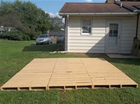 temporary deck temporary back deck ideas on pinterest pallets decks