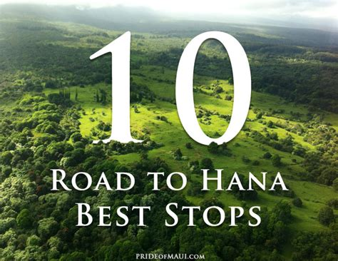 Top 10 Road to Hana Places to Stop   The Best Hana Stops