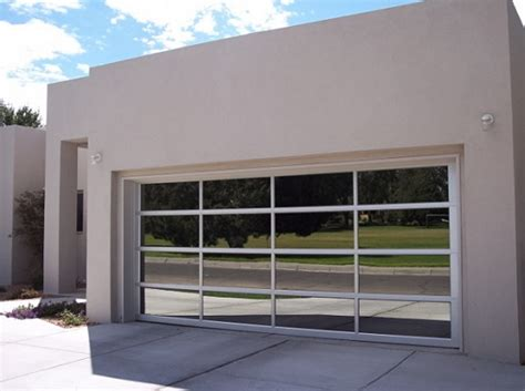 Modern Glass Garage Doors by Aluminum Garage Doors Find The Best One For You Home