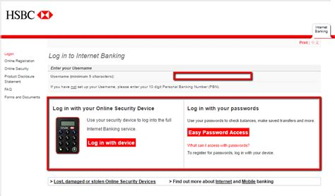 reset hsbc online banking hsbc bank australia online banking login cc bank