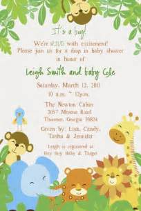 printable safari baby shower invitations elizatate digital on artfire