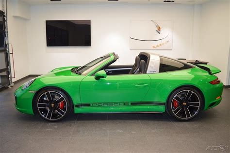 porsche 911 viper green viper green 2017 porsche 911 targa 4s german cars for