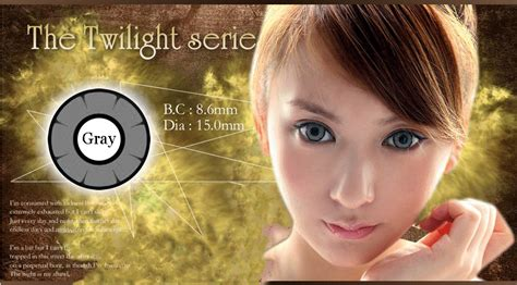 Softlens The Twilight 15 Mm Green Berkualitas softlens twilight anime