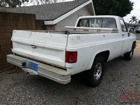 truck bed cab 1984 gmc sierra heavy duty 8 lug 2500 automatic single cab
