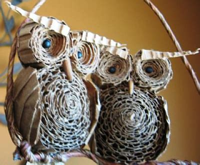 cara membuat rumah burung merpati dari kardus cara membuat kerajinan tangan burung hantu dari kardus