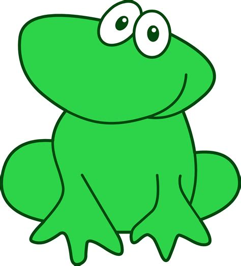 frog clipart green frog free clip