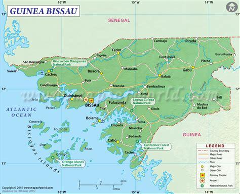 guinea bissau political map image gallery bissau map