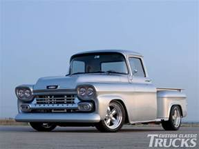 1958 chevy apache truck rod network