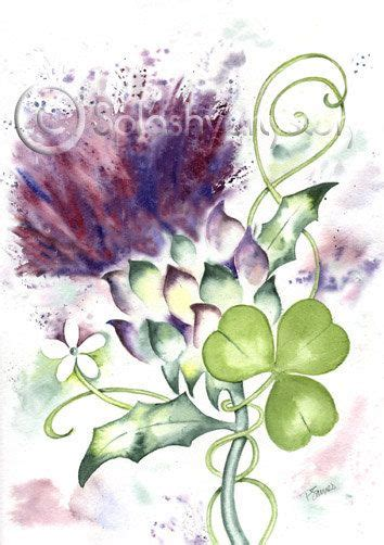 watercolor tattoo ireland celebrate your scottish heritage with this