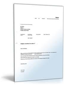 Mahnung Vorlage Ware Nicht Erhalten Mahnung Auf Englisch Monition Muster F 252 R Mahnschreiben