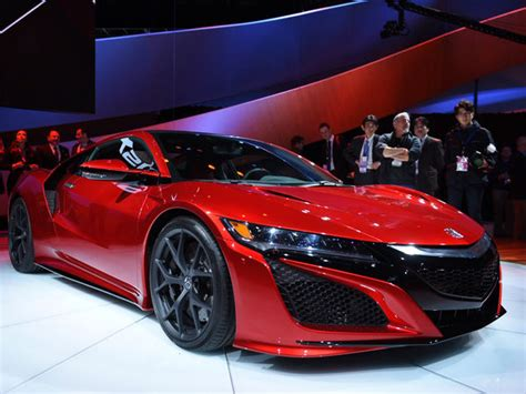 Is Honda American Made 2015 Detroit Auto Show Acura S New Nsx Is An American