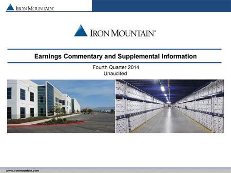 supplemental k 1 information statement earnings commentary and supplemental information fourth