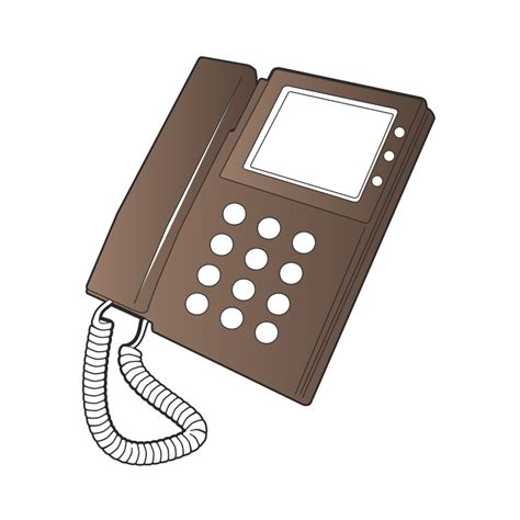 Desk Phone by Clipart Desk Phone
