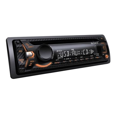 Sony Single Cd Cdx G1050 U cdx g1001u cd mp3 car stereo with front usb aux
