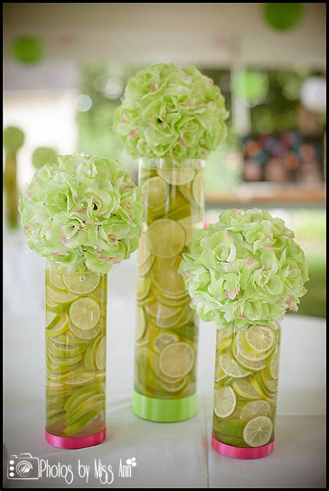 Lime Green Wedding Centerpieces Www Imgkid Com The Lime Green Centerpieces