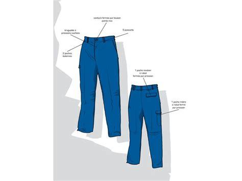 vetement travail 2304 pantalon protection chimique contact rld