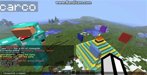minecraft how to set spawns and warps