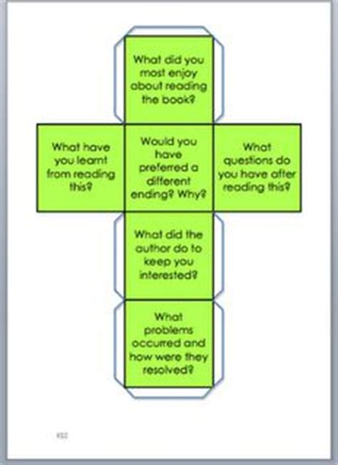 printable guided reading dice 1000 images about literacy activities on pinterest