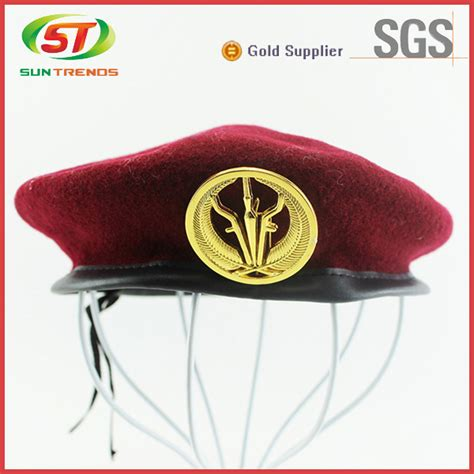 Embroidery Beret custom embroidery army beret beret caps s