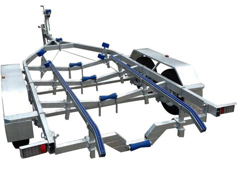 boat trailer rollers or skids swiftco 6 metre boat tralier skid type