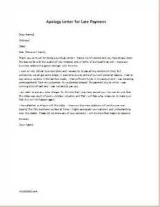 Sample Business Apology Letter For Late Payment apology letter for late or delayed payment writeletter2 com